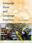 Language Form and Language Function by Frederick J. Newmeyer (Paperback, 2000)