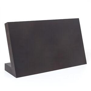 holzfee magnet messerblock holz wenge leer bis 7 messer magnetblock messerhalter ebay. Black Bedroom Furniture Sets. Home Design Ideas