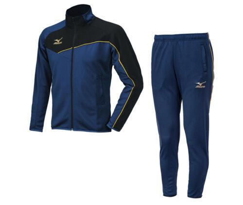 Mizuno Basic Track Suit Set P2MC601026 Jacket Pants Training Soccer Sports Gym