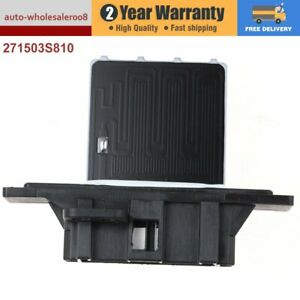 For Nissan Pulsar N15 Navara D22 W/O Climate Blower Motor Heater Fan Resistor