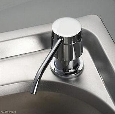 Practical Sink Liquid Soap Lotion Storage Holder Bottle 300ML Dispenser