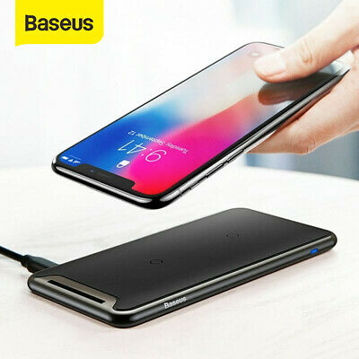 Baseus 10W QI Wireless Charger Charging Dock for iPhone 11 XS XR Samsung S10 S9 | eBay