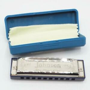 Johnson-Blues-King-Harmonica-Key-of-A