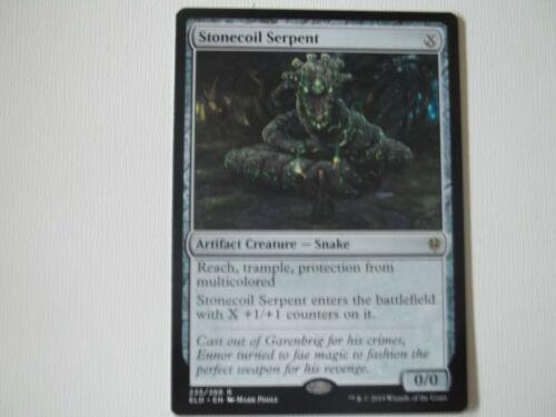 1 Throne of Eldraine Excellent//Near Mint Stonecoil Serpent X