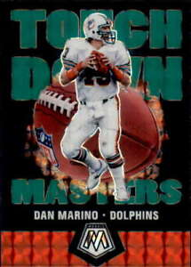 2020 Panini Mosaic Touchdown Masters Mosaic Green #12 DAN MARINO  Dolphins