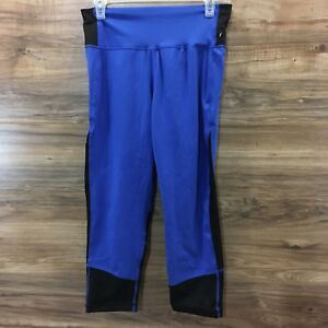 Details about Adidas ClimaLite Womens Colorblock High Rise Leggings Athletic Pants, Size L New