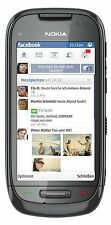 Nokia  C7-00 - 8GB - Charcoal Black Smartphone - Vorführgerät (#1112)