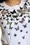 Mujer-Top-Con-Detalles-Camiseta-Manga-Corta-T-Talla-8-10-12-14-16-18