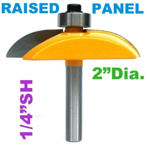 """1pc  1//2/"""" Shank Cove Convex Raised Panel w//Back Cutter Router Bit S"""