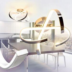 Dettagli su Illuminazione LED Ufficio Luce Cucina Lampada Moderno Camera  Metallo Lustro 12 W