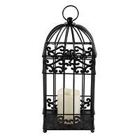 14 Decorative Birdcage Led Candle Holder Lantern Outdoor Light Patio Yard Decor