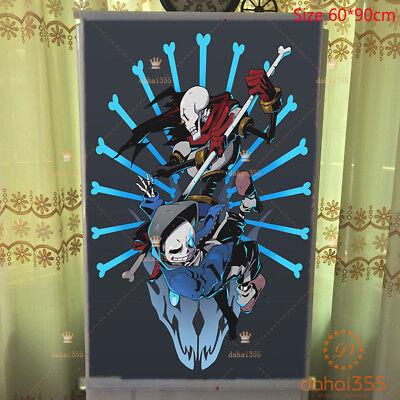 For Anime Undertale Sans Manga Wall Poster Affiche Faire D/éfiler #1182,40x60cm//16x24inches