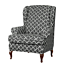 INSMA-Stretch-Wing-Chair-Cover-Slipcover-Wingback-Armchair-Furniture-D miniature 10
