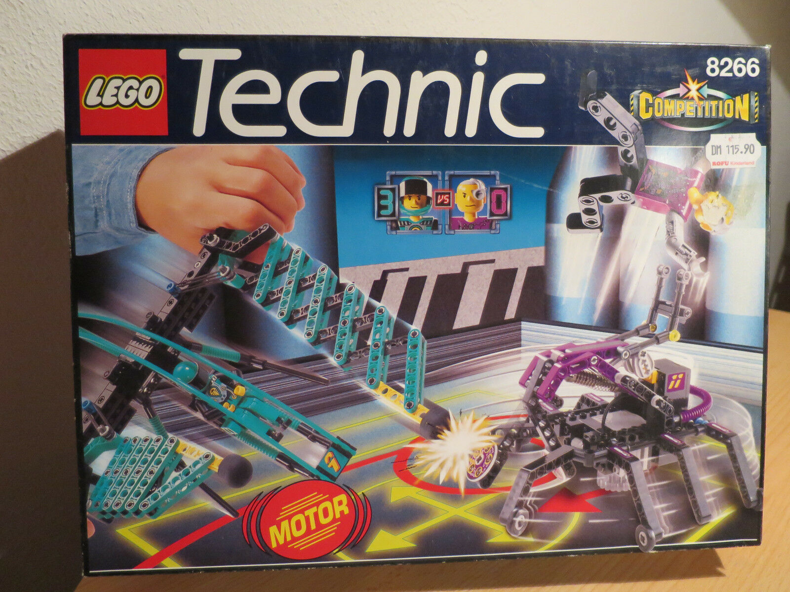 (TB) LEGO 8266 NIP With Motor Top Condition Original