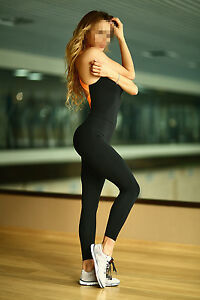Women's Yoga Gym Jumpsuit Athletic Fashion Fitness Sporting Casual Bodysuit