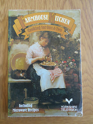 Vintage Cook Book Farmhouse Kitchen COOKING FOR ONE OR TWO Recipes Cookery 1980s