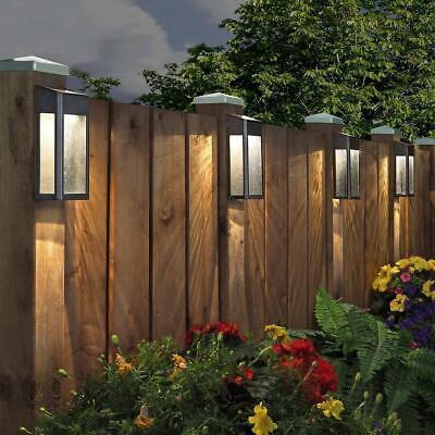 Paradise Solar Led Post Lights 4 Pack