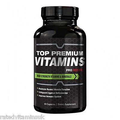 ProSeries Multi Vitamins Minerals Advanced Complex Sport Men Women 90 Capsules
