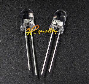 100pcs F5 5mm White Round Superbright LED Light LED lamp GOOD QUALITY