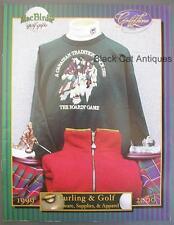 1999-2000 MacBirdie Curling & Golf Giftware/Supplies/Apparel Catalog w/Prices