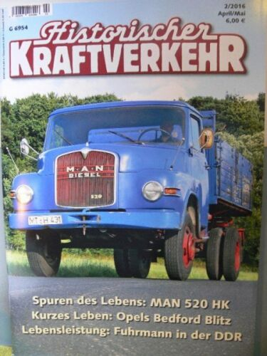 Historischer Kraftverkehr 2016 2 April//Mai