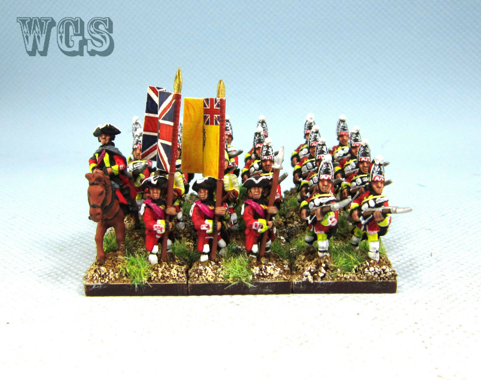 15mm SYW Seven Years War WGS Painted British Grenadier BA15