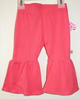 Lolly Wolly Doodle Salmon Deep Ruffle Pants Size 12 Month