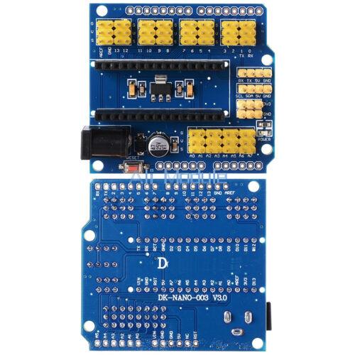 1//2//5//10x Nano I O Expansion sensor Shield Module For Arduino UNO R3 Nano V3.0