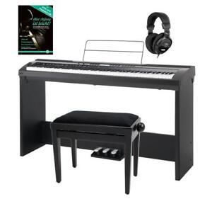 Piano Clavier Numerique Synthetiseur Digital 88 Touches 64 Sons Banc Casque Set