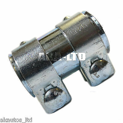 For Exhaust Connector Clamp Sleeve 50mm to 54mm Internal Bore length 90mm