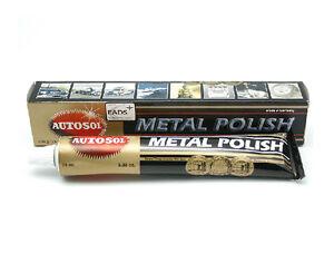 75ml autosol metal polish solvo rust remover chrome. Black Bedroom Furniture Sets. Home Design Ideas