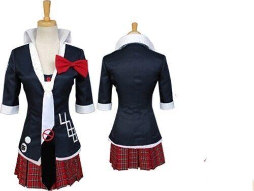 Dangan Ronpa Junko School Uniform Cosplay Costume Super NEW
