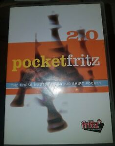 Details about ChessBase Pocketfritz 2 0 [PC CD-ROM] The Chess Master For  Your Shirt Pocket