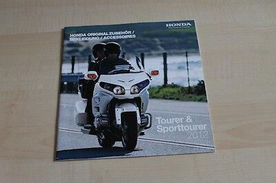 Tourer & Sporttourer Aufstrebend 106472 Honda Motorrad Prospekt 01/2012 Zubehör