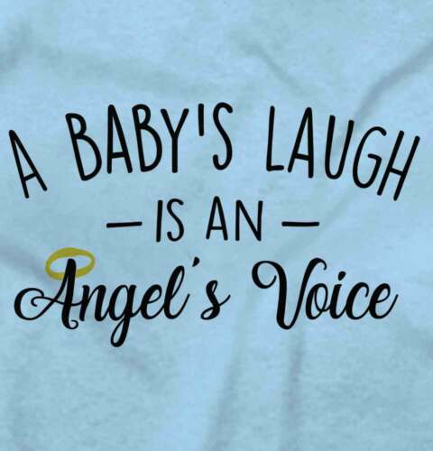 Baby Laugh Angel Voice Cute Infant Romper Adorable Infant Newborn Baby Bodysuit