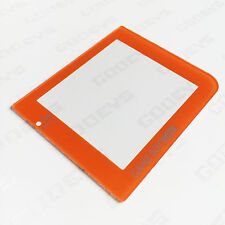 ORANGE Colour Nintendo Game Boy Pocket GBP New Replacement Screen Cover Plastic