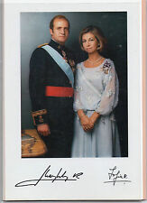 Fotografia de los Reyes Juan Carlos I y Sofia (CO-92)