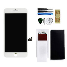 White LCD Display Touch Screen Digitizer Assemblyfor iPhone 7 Cracked in Corner