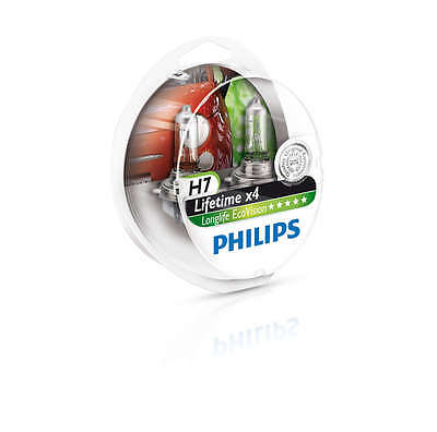 philips h7 longlife ecovision halogen 12972llecos2 h7 12v 55w px26d pair ebay. Black Bedroom Furniture Sets. Home Design Ideas