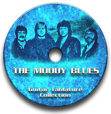 THE MOODY BLUES PROG ROCK GUITAR TABS TABLATURE SONG BOOK TUITION SOFTWARE CD
