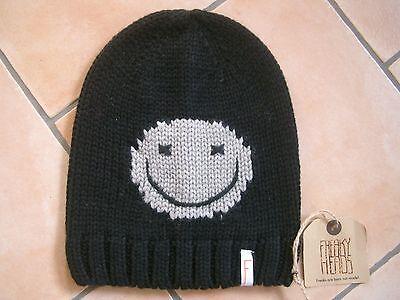 (11) Bambini Berretto Freaky Testa Beanie Inverno Berretto Happy Face Con Logo Flag Gr.53-mostra Il Titolo Originale Con Il Miglior Servizio