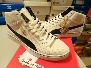 NEW PUMA UNDFTD MID UNDEFEATED 24K GOLD PACK WHISPER WHITE BLACK ... 4955208157