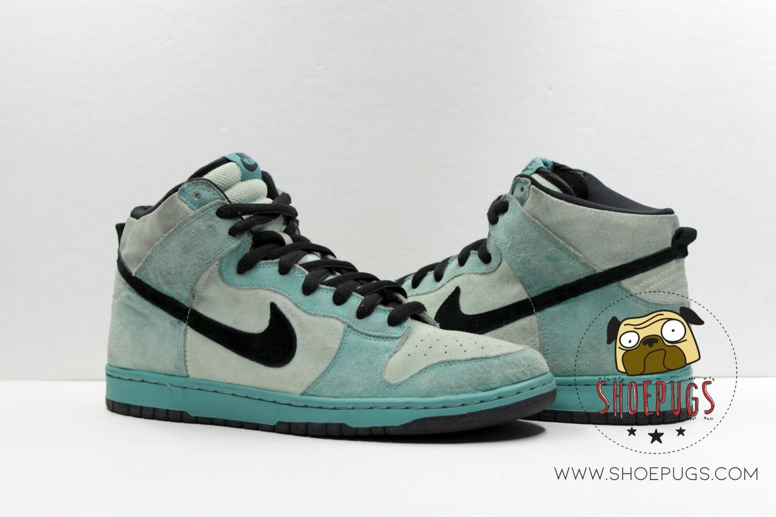2004 Nike Dunk High Pro SB Sea Crystal sz 10.5 w  Box ice green   TRUSTED SELLER
