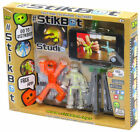 Toy Shed Stikbot Studio Set Orange White Clear