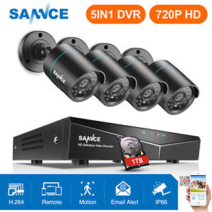 SANNCE-HD-1080N-8CH-5in1-DVR-1500TVL-Outdoor-IR-Home-Security-Camera-System-1TB