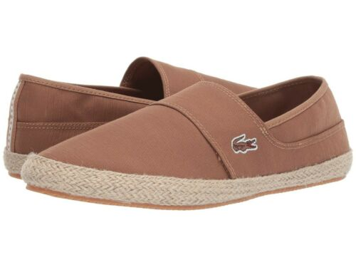 Lacoste Marice 119 Homme Croco Logo Casual Slip On Mocassin Baskets Chaussures L Marron