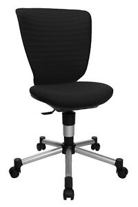 Kinderstuhl Bürostuhl Drehstuhl Schreibtisch Topstar Titan Junior schwarz B-Ware