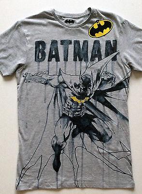 Mens DC Comics BATMAN Comic Book Pen & Ink T Shirt from Primark