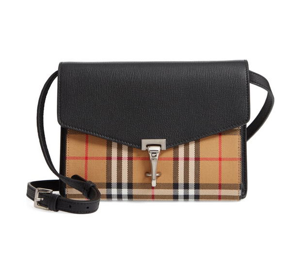 Burberry Baby Banner Vintage Check Crossbody Bag Black 4079964 For Sale Online Ebay