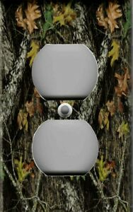 Image Is Loading MOSSY OAK CAMOUFLAGE HOME DECOR OUTLET COVER